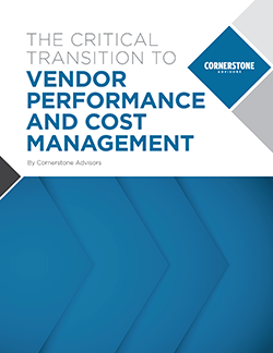 Vendor Performance Management Cover Page